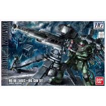 Zaku II + Big Gun (Gundam Thunderbolt Ver.) HG Bandai