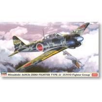 Mitsubishi A6M2b Zero Fighter Type 21 Junyo Fighter Squadron
