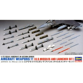 Aircraft Weapons V U.S.Missiles And Launcher Set