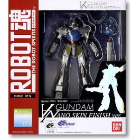Robot Spirits Turn A Gundam Nano Skin Finish Ver.