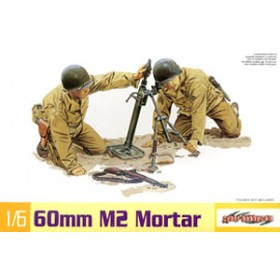 US M2 Mortar & M1 Garand Rifle SOLDIER NON INCLUDED