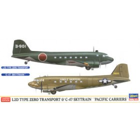 L2D Transport Aircraft & C-47 Sky Train Pacific Carriers