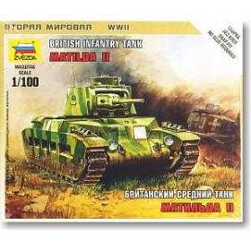 Matilda II British Medium Tank