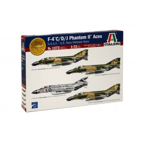 F-4 C/D/J Phantom II Aces USAF-US Navy Vientnam