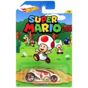 Mattel Hot Wheels Super Mario Vandetta