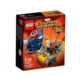 SUPER HEROES® Mighty Micros - Captain America contro Teschio Rosso