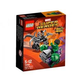Super Heores Might Micros Hulk VS Ultron