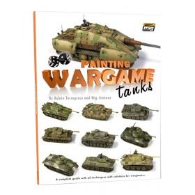 Painting Wargame tanks English edition