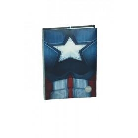 Captain America cw chest noteboook w/light