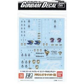 Gundam decal HGUC A.O.Z GD 35