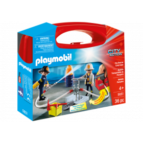 Fire Rescue Carry case Playmobil