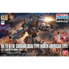 Gundam Local Type north America Bandai