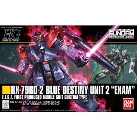 Gundam Blue Destiny Unit 2 Exam HG Bandai