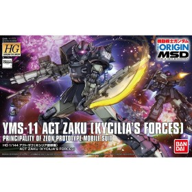 Zaku Act Kycilia Forces Bandai