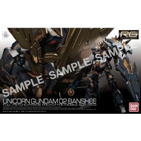 Gundam unicorn Banshee Norn RG Bandai