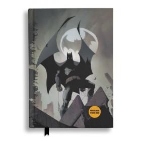 Batman Batsignal Notebook with light