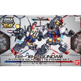 SD Cross Silhouette RX-78-2 & CRS Frame