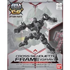 SD Cross Silhouette Frame Gray