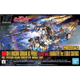Gundam Phenex Destroy mode narrative ver. Gold