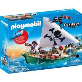 Playmobil Pirates 70151 - Nave pirata con motore subacqueo