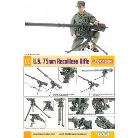 M20 75 mm Recoilless Rifle SOLDIER NOT INCLUDED