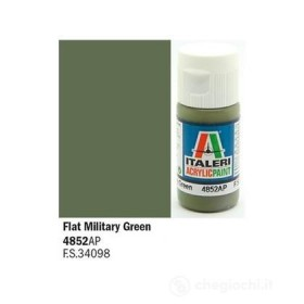 Flat Military Green