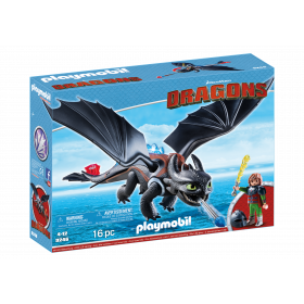 Playmobil Dragons Hiccup Sdentato