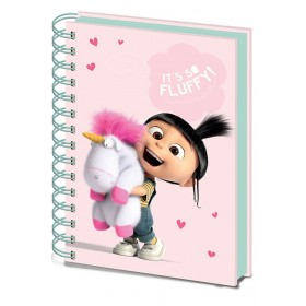 Desp Me 3 So Fluffy Notebook
