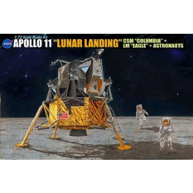 "Apollo 11 ""Lunar Landing"" CSM Columbia LM Eagle by Dragon"