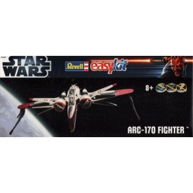 Star Wars EasyKit Model Kit 1/40 ARC-170 Fighter