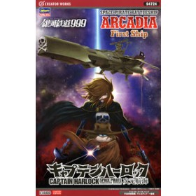 Captain Harlock Space Pirate Dimension Voyage Space Pirate Battle Ship Arcadia 1st Warship