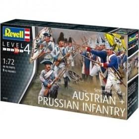Seven years war ( Austrian & Prussian Infantry ) Revell