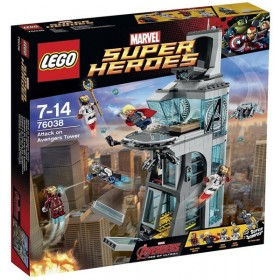 Super Heroes® Attack on Avengers Tower