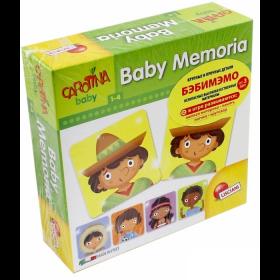 Baby Memoria Carotina 1-4 puzzle Lisciani