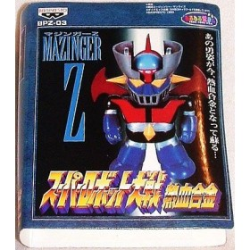 Mazinger Z Figure Super Deformed Model Robot Banpresto