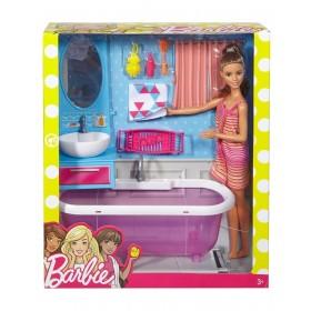 Barbie il bagno ed arredamento