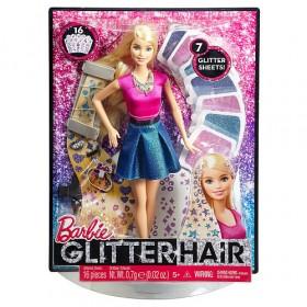 Barbie Glitter Hair Design Doll - Blonde