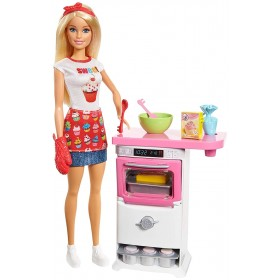 Barbie Pasticcheria con accessori