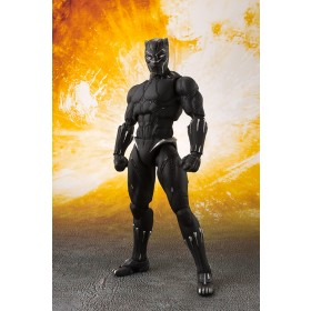 Aiw Black Panther & Tamashii Effect Rock S.H Figuarts