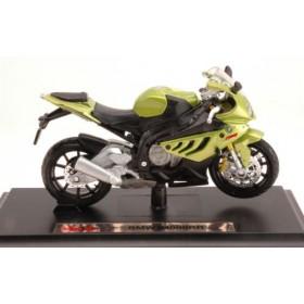 BMW S1000RR Metallic Green Motorbike by Maisto