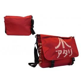 Atari Japan Logo Dark Red Messenger Bag