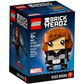 Brick Headz Black Widow Lego
