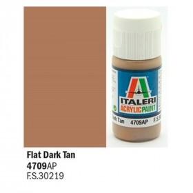 Flat Brown Dark