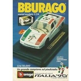 Burago Ferrari italia 90