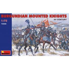 Burgundian Mounted knights - XV Century by MiniArt