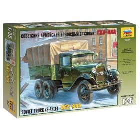 GAZ-AAA Soviet Truck (3-AXEL)