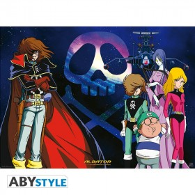 "CAPITAIN HARLOCK - Poster ""Arcadia Crew"""""