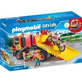 Playmobil City Life 70199 - Carro attrezzi con Moto