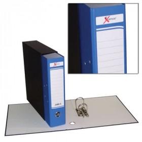 Registratore x ufficio protocollo dorso 8 blu