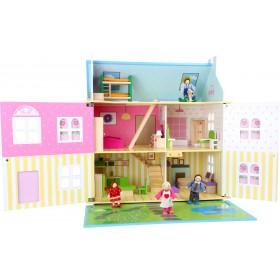 """Casa delle bambole """"sogno floreale"""""""